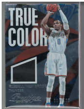 2014-15 Prestige Plus Verdadero Colores Materiales #8 Russell Westbrook Jersey /