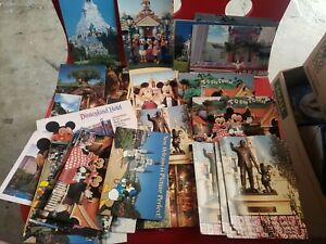 49 lot Disneyland Disney Toontown postcards collection