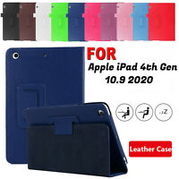For Apple iPad Air 4th Gen (10.9 2020) Leather Case Magnetic Flip Stand Cover