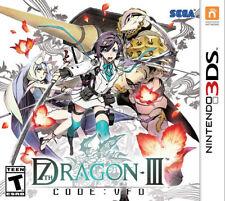 7th Dragon III Code: VFD 3DS New Nintendo 3DS, Nintendo 3DS