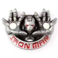 New Superhero Iron Man 2 Metal Belt Buckle Movie Hero Tony Starks Avengers