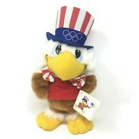 VTG 1984 Los Angeles Olympics Sam the Olympic Eagle #8255 11inch Plush