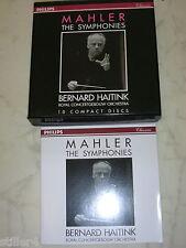 Mahler the Symphonies Haitink 10 CD Box Philips Classics