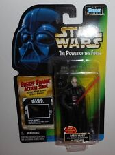 Kenner STAR WARS POTF2 Darth Vader Removable Helmet Lightsaber Freeze 1997 NIB