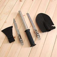 Outdoor Camping Hiking Garden Tool Survival Set Hatchet Shovel Knife Saw ax T009