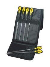 Nadelfeilen Schlüsselfeilen Set 6teilig Minifeilen flach rund eckig 160 mm Feile