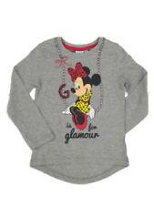 T-shirts, hauts et chemises gris à manches longues pour fille de 2 à 3 ans