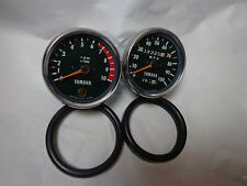 1972 Yamaha rt2 360 enduro tachometer and speedometer as good as NOS