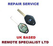 BMW E38 E39 E46 E53 E61 E90 Remote Key Repair Service  Faulty  Fix