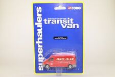 Corgi 1:64 Scale TY81712; Ford Transit Hi-Roof; James Irlam; Excellent on Card