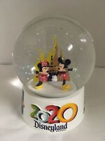 Disneyland Resort 2020 Minnie And Mickey Mouse Mini Snow Globe New Collectible