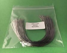 016 x 022 Upper Natural Stainless Steel Orthodontic Arch Wire USA Made 100 pack