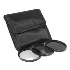 3pcs 58mm Nd2 Nd4 Nd8 Nd 2+4+8 Filter Set 58 mm Kit + black cloth bag P9U3