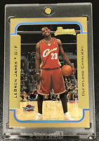 2003-04 BOWMAN GOLD LEBRON JAMES ROOKIE #123 CENTERED AND PSA BGS READY! NM-MT