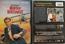 HITCHCOCK NORTH BY NORTHWEST WARNER REGION 1 NTSC DVD