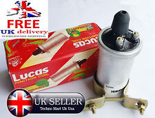 GENUINE LUCAS 6V  IGNITION COIL WITH BRACKET VESPA SCOOTERS MOTORBIKE