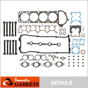 Fits 98-04 Nissan Xterra Frontier 2.4L DOHC Head Gasket Set Bolts KA24DE