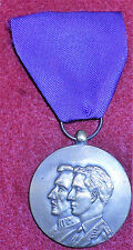 XM44 Belgium medal to celebrate 50 years of the 1918 Armistice, 1918-1968