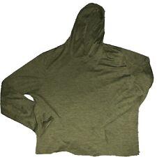 Patagonia Mens Capilene Cool Daily Hooded Shirt Long Sleeve Green XL Green NWOT