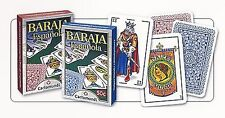 2-Decks Of Baraja (Espanola)~Spanish Playing Cards~Red & Blue~Made In The USA~