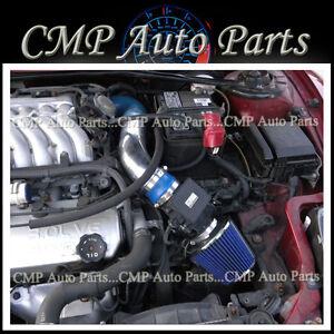 BLUE 2000-2005 Mitsubishi Eclipse SPYDER/GS/GT/GTS/RS 2.4L 3.0L AIR INTAKE KIT