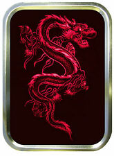 Red Dragon  2oz Gold Tobacco Tin, Pill Tin, Stash Can, Baccy Tin, Pocket  Tin