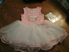 Bonnie Jean Pink Tutu Dress Toddler Girls size 2T, NWT
