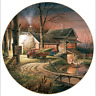 Hunters Haven Collector Plate Terry Redlin Wild Wings Cabin Geese