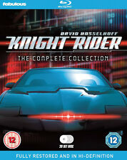 KNIGHT RIDER SERIES 1-4 THE COMPLETE COLLECTION BLU RAY BOX SET NEW SEASONS