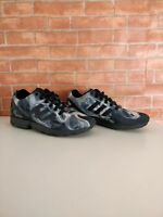 MENS ADIDAS TORSION ZX FLUX SMOKE 3 STRIPE TRAINERS SNEAKERS UK 6 EU 39.3 SHOES