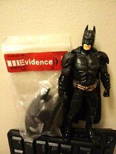 DC DARK KNIGHT MOVIE MASTERS BATMAN WITH EVIDENCE BAG FREE SHIPPING!
