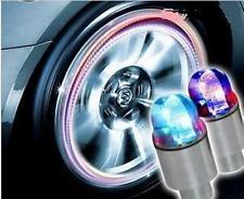 4Pcs colorful LED Car SUV Wheel Tyre Tire Air Valve Stem Caps Decoration Light L