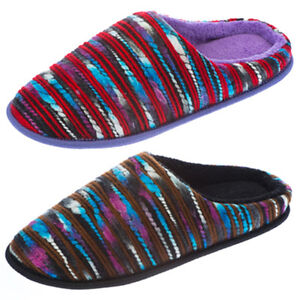 Coolers Womens Multi Coloured Soft Padded Slip on light weight Slippers New