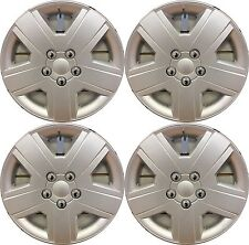 """NEW SET of 4 16"""" Silver Hubcaps Wheelcovers for 2008-2010 Dodge AVENGER"""