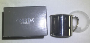 ONEIDA SILVERPLATE BABY SIPPY CUP CHILD'S MUG with box