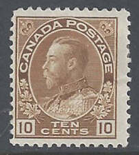 Canada #118 Bis Brown MH SCV $40