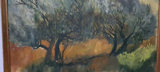 See, Ölgemälde, Wandbild, gemalt, handgemalt, Wald, Landschaft