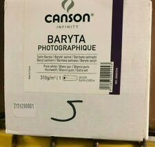 """Canson Infinity Baryta Photographique Fine Art Paper Roll 24"""" X 10' 200002294"""