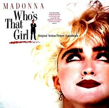 LP - Madonna & Various (O.S.T.) Who's That Girl (SPANISH EDIT. 1987) MINT, NUEVO