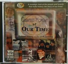 """Greatest Moments of Our Time"" Cd-Rom LkNew Windows/Mac compatible 100+ mins"
