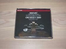 GRUMIAUX TRIO 3 CD BOX - MOZART / THE STRING QUINTETS / GÉRECZ PHILIPS in MINT-