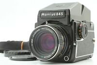 [NEAR MINT] Mamiya M645 1000s AE Finder + Sekor C 80mm f2.8 Lens from JAPAN A25A