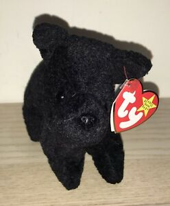 BNWT! TY Beanie Baby Scottie the Scottish Terrier Dog DOB June 15th 1996