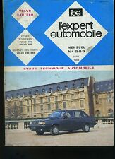 (16B) REVUE TECHNIQUE EXPERT AUTOMOBILE VOLVO 340 / 360