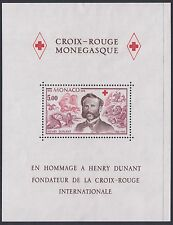 MONACO : 1978 150th Anniversary of Henri Dunant M/Sheet SG MS1382 MNH