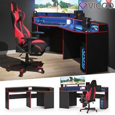 Gaming Desk Eckschreibtisch Kron Schreibtisch Gamer PC Tisch Computertisch Vicco