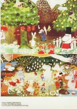 Moomin Finland Official Mint Postcards Two (2) Beautiful Cards