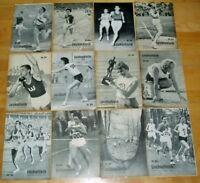 32x Leichtathletik Fachzeitschrift 1964 Sammlung alt Sport 60er Jahrgang