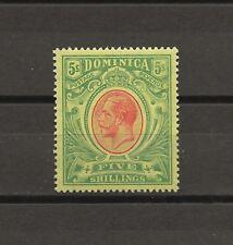 DOMINICA 1914 SG 54 MINT Cat £60