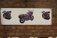 suzuki rg500 rg400 Gamma  large pvc  garage work shop banner   show banner